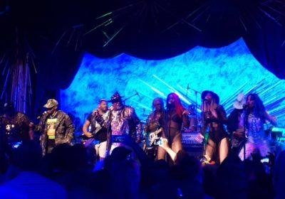 Photo ; parliamente -Funkadelic à NEW YORL